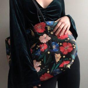 Floral Zara bag!